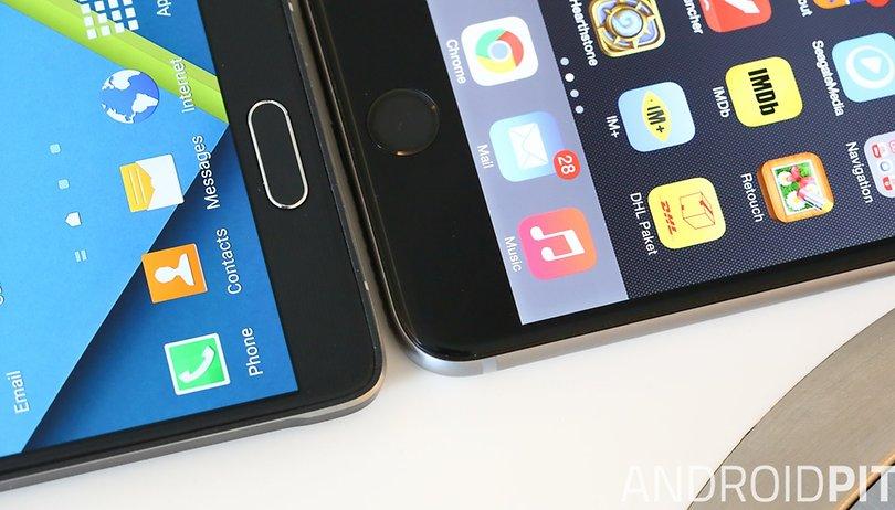 Samsung Galaxy S6 vs iPhone 6s: Comparación de los eternos rivales