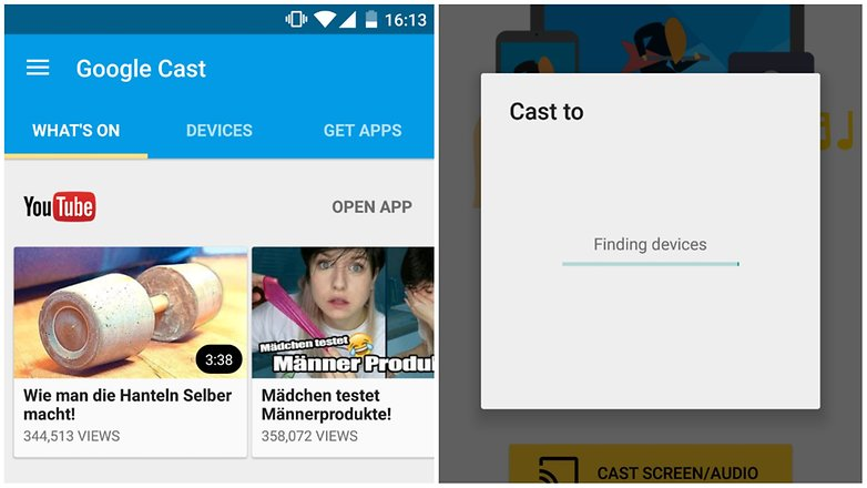how to stream android to tv