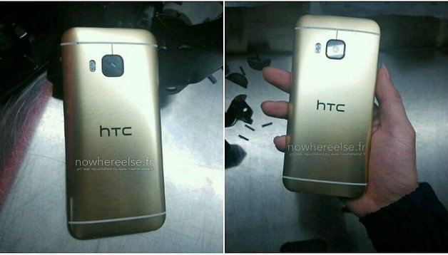 HTC One (M9) gold edition leaks, but is it tacky?