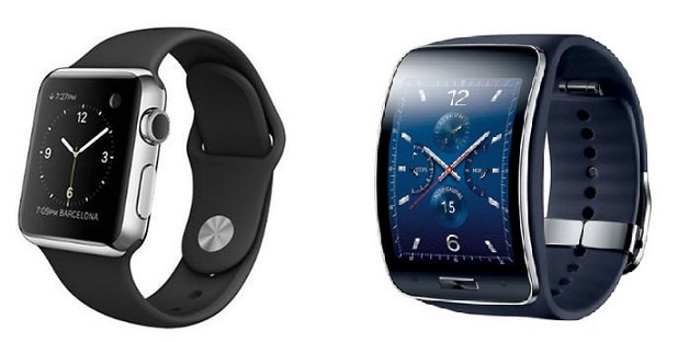 Apple watch vs samsung gear s comparison the battle for your wrist begins androidpit for Watches gear