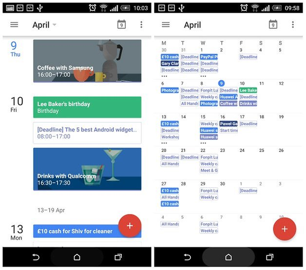 androidpit google calendar month view