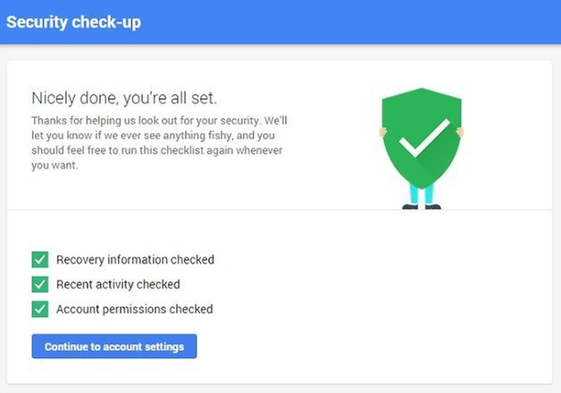 androidpit google drive security checkup
