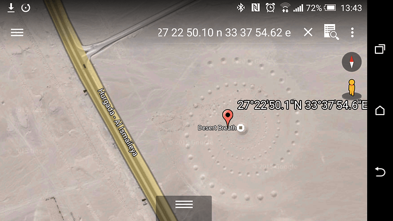 androidpit google earth desert breath