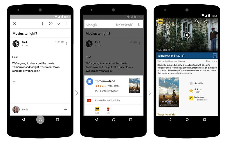 androidpit google now on tap
