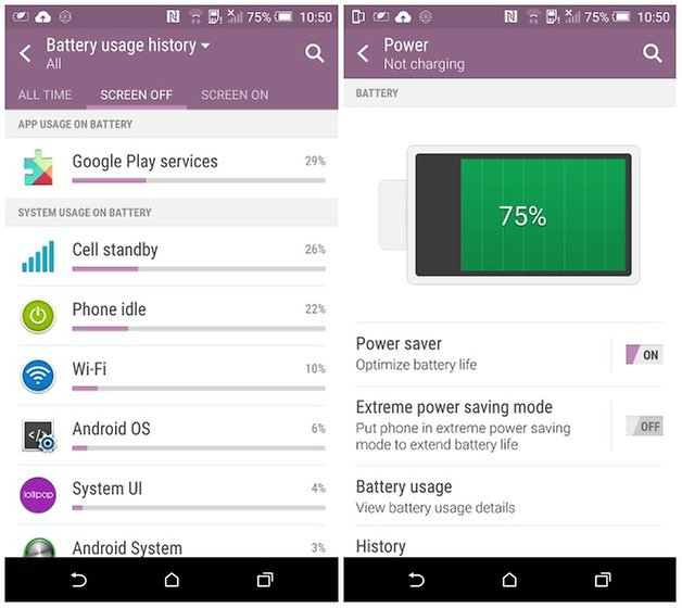 androidpit htc one m9 battery