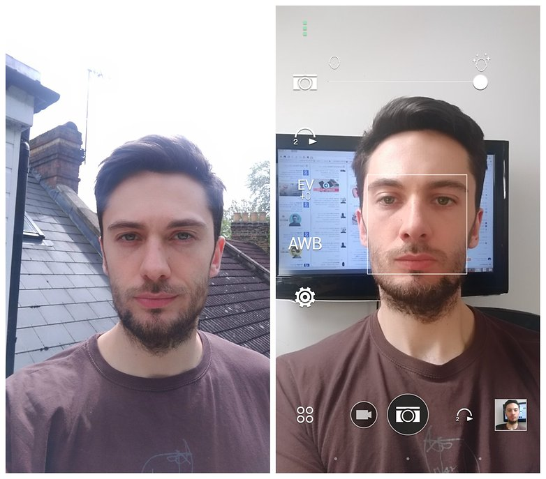 androidpit htc one m9 selfie