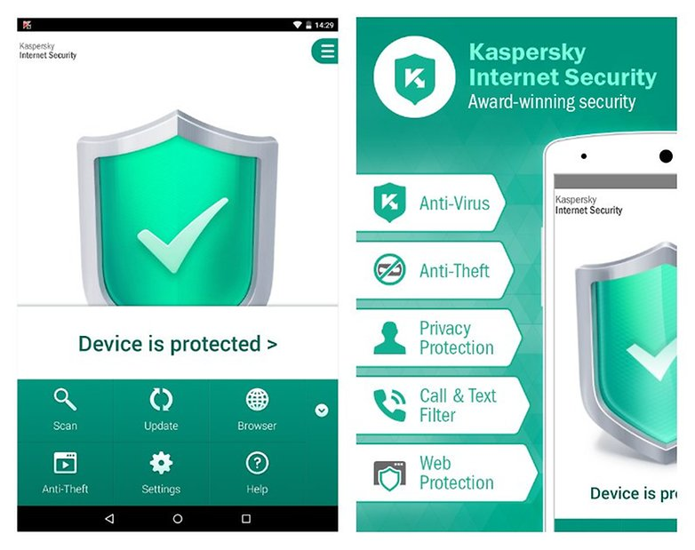androidpit kaspersky