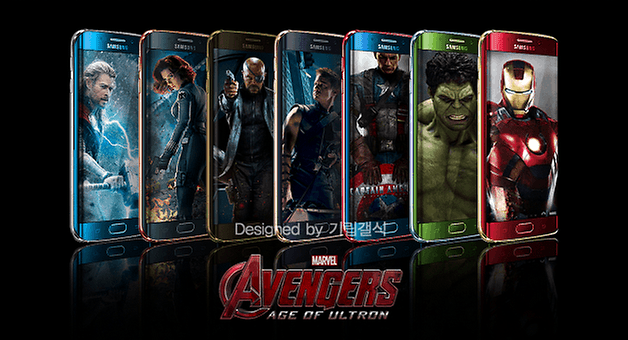 androidpit marvel avengers galaxy s6