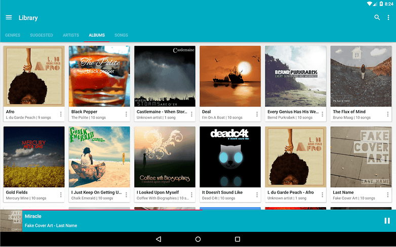 androidpit shuttle music player