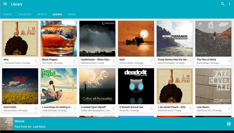 5 awesome music player apps for Android | AndroidPIT