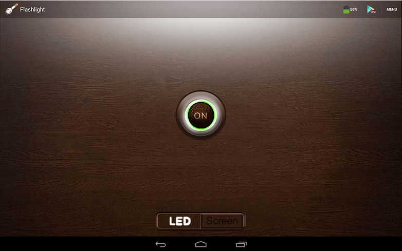 androidpit smart flashlight