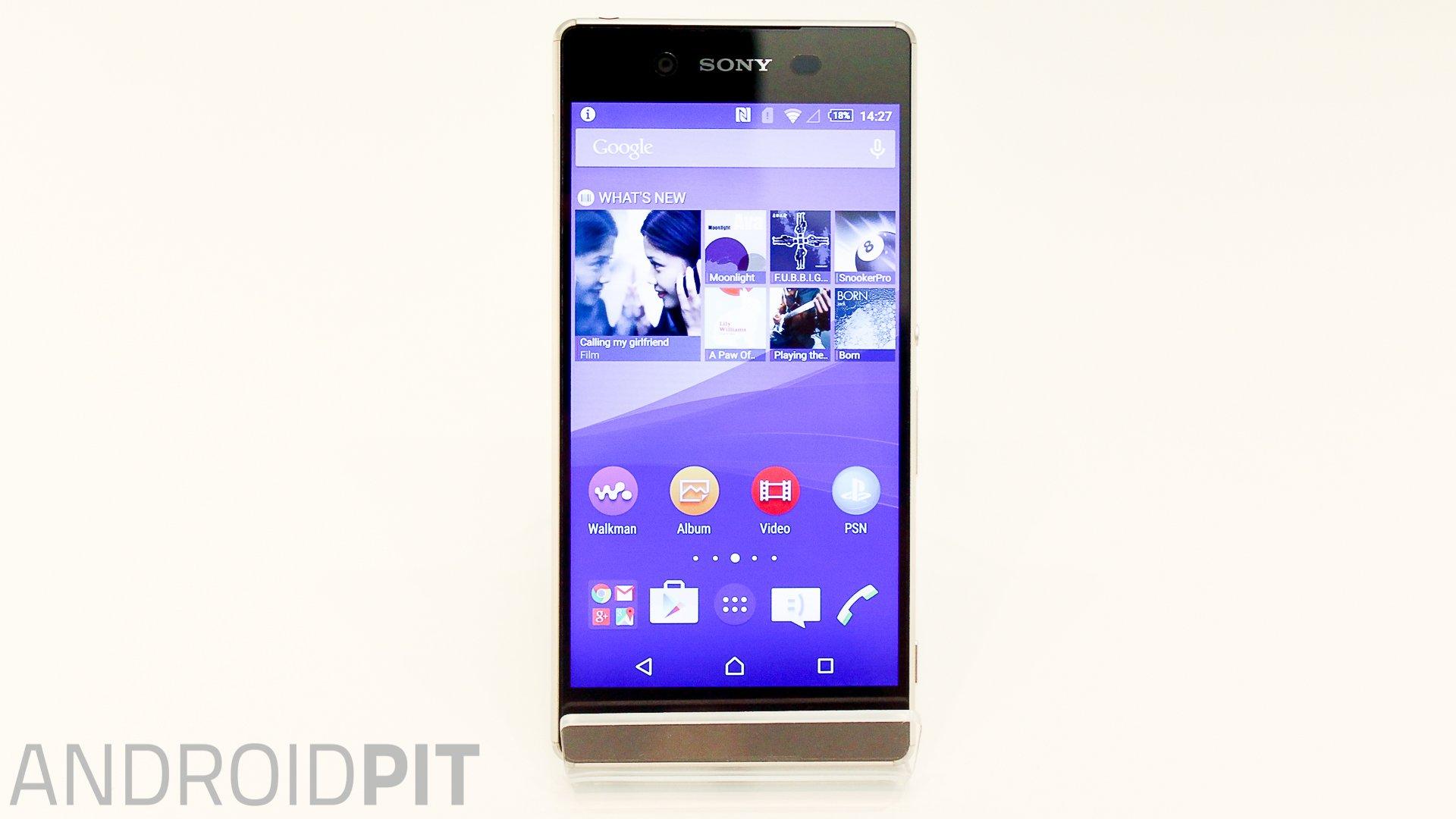 Test comparatif Sony Xperia Z3 vs Xperia Z3+