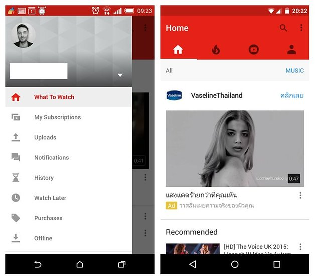 Here's A Sneak Peek At YouTube's New Look For Android