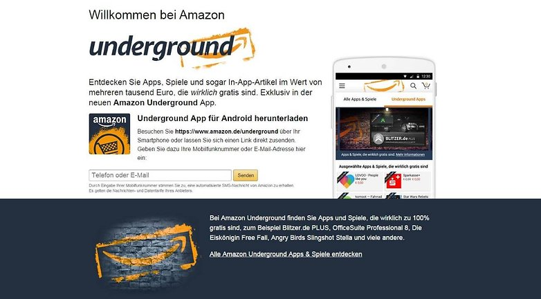 Amazon Underground 1