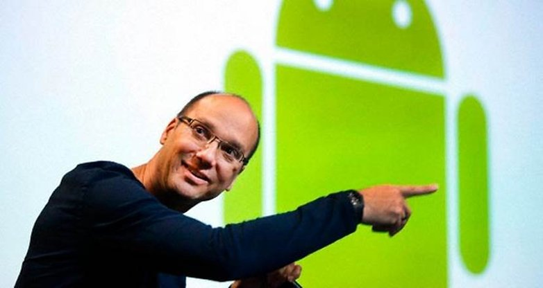 Andy Rubin Android Bugdroid