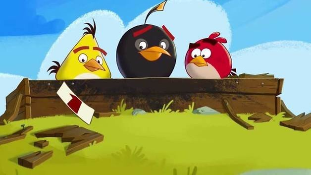 Angry birds fuer Android