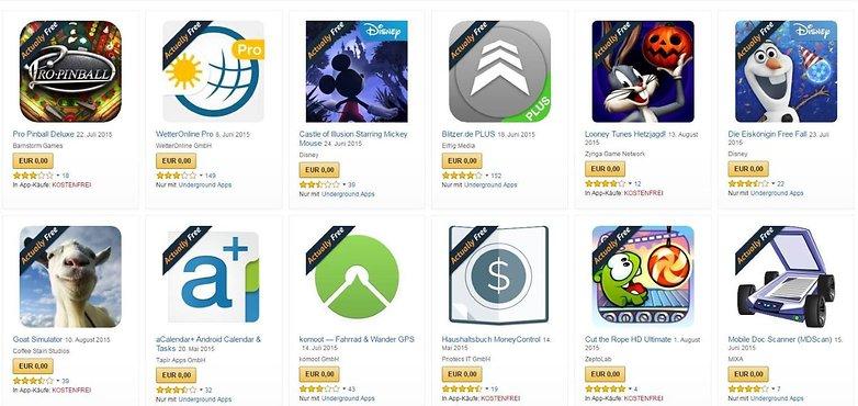 App Store Underground