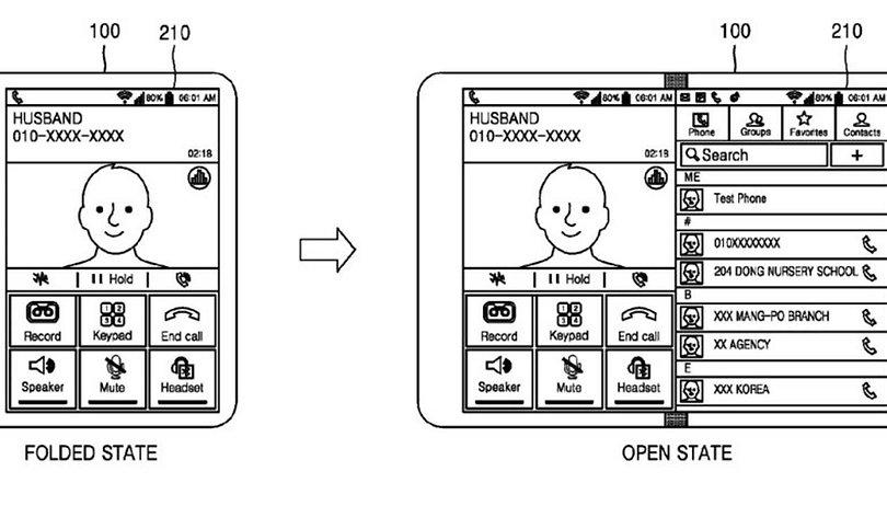 Neues Patent von Samsung: Das faltbare Smartphone wird wohl schon bald Realität