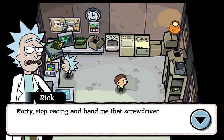 Morty Screenshot