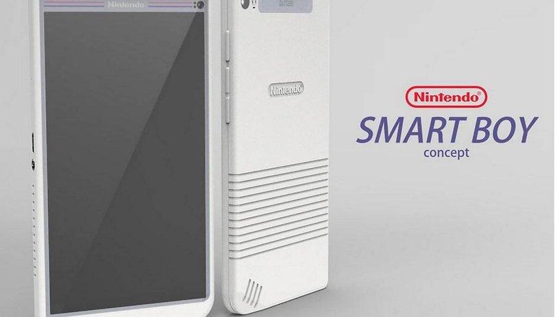 So sollte das Android-Smartphone von Nintendo aussehen