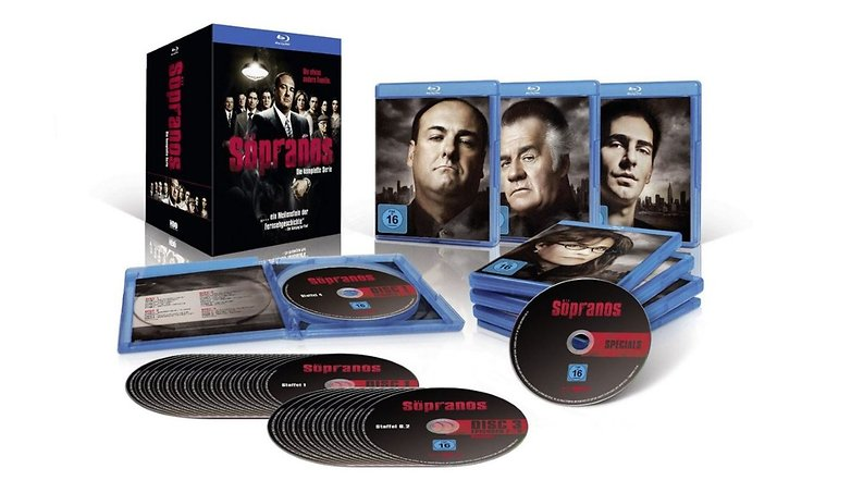 Sopranos Blu ray