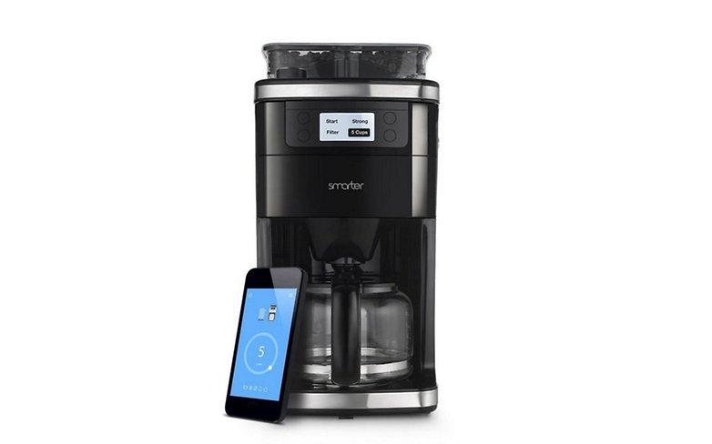 Steuerbare Kaffemaschine