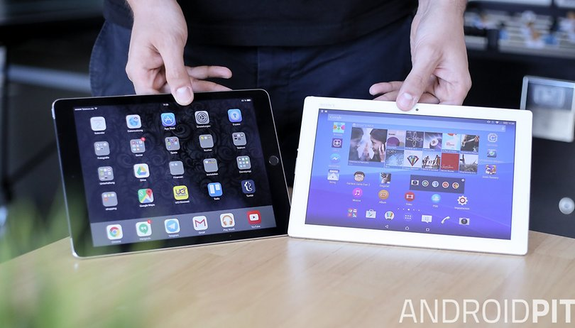 Sony Xperia Z4 Tablet vs. Apple iPad Air 2: Wenn Giganten kollidieren!