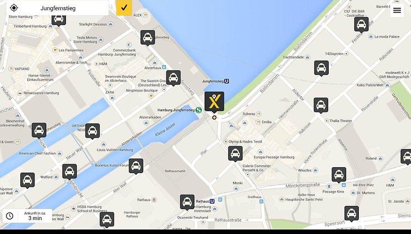 Schnell und günstig zum Ziel: Das sind die besten Taxi-Apps für Android