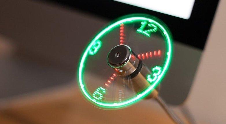 USB Uhr