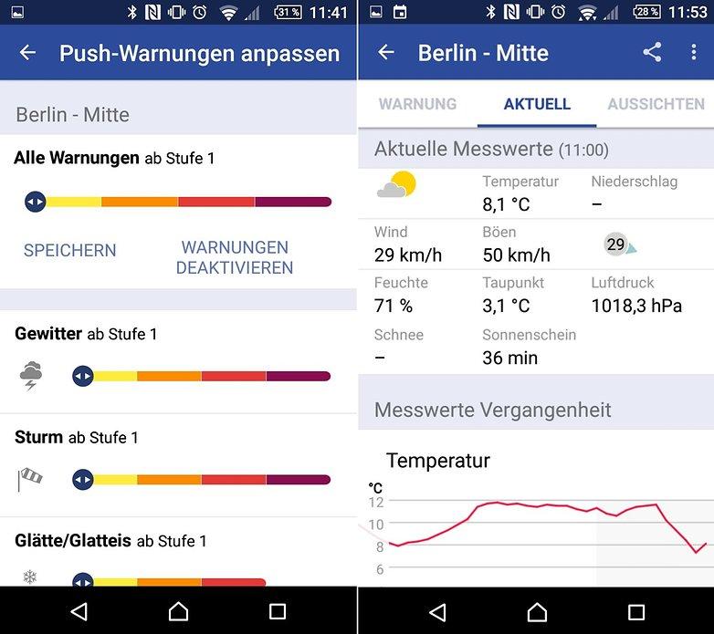 Unwetter App
