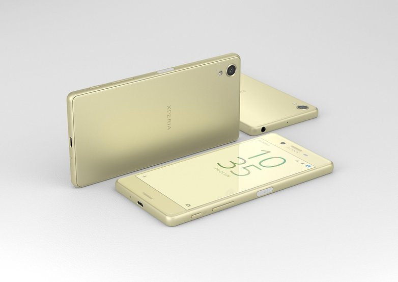 Xperia X Lime Gold