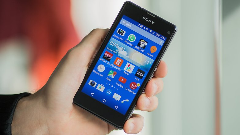 best compact smartphones sony xperia z1 compact