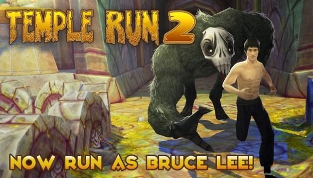 Temple Run 2: Bruce Lee ist endlich wieder da!
