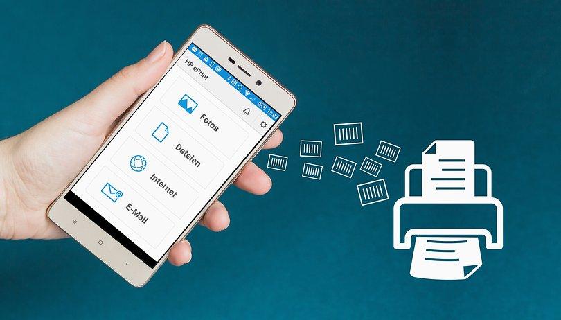 Anleitung: Drucken mit dem Smartphone oder Tablet