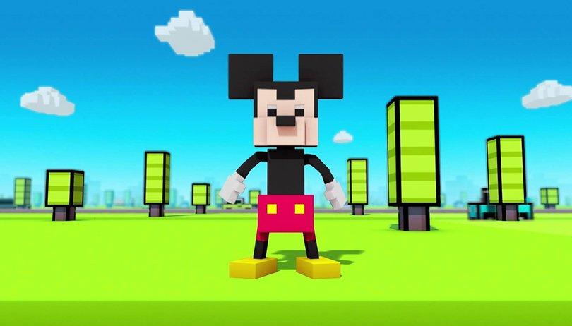 Disney-Figuren statt Huhn: Disney Crossy Road für Android steht bereit