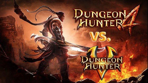 dungeonhunter5vsdungeonhunter4