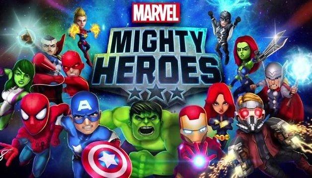 Marvel Mighty Heroes: novo jogo dos Vingadores chega em breve para Android