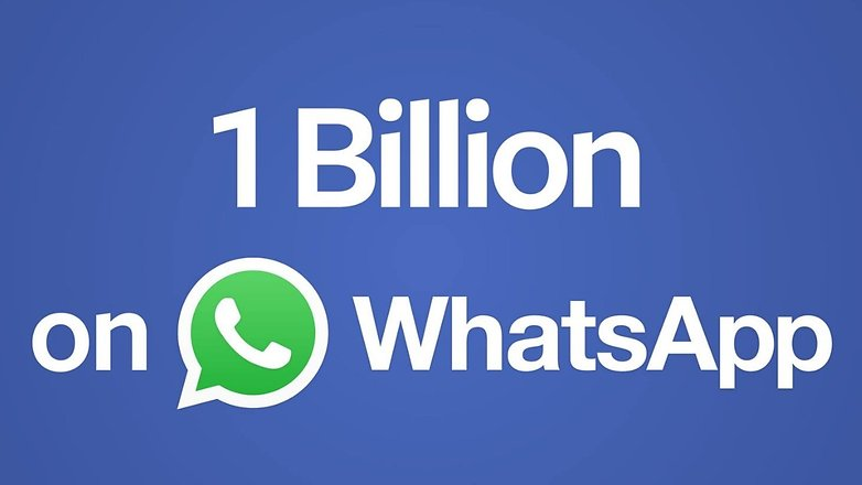 1 billion whatsapp