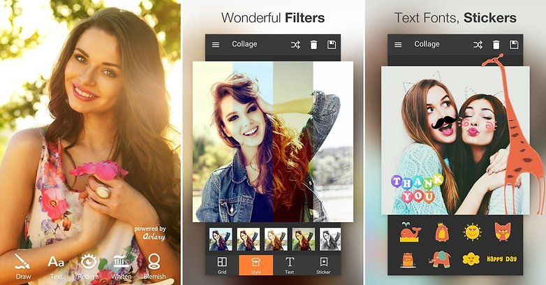 Las mejores aplicaciones para editar fotos androidpit for Editor de fotos efectos