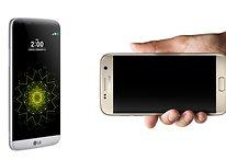 Samsung Galaxy S7 vs LG G5: Las estrellas del MWC 2016
