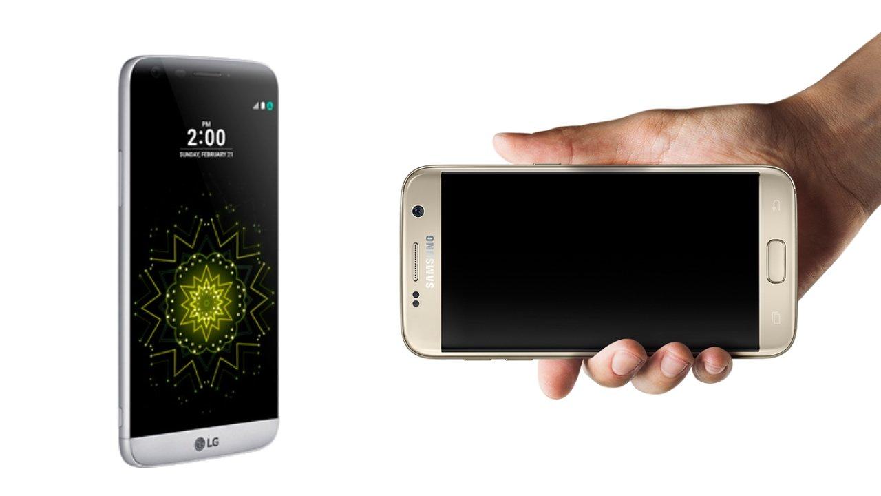 Samsung Galaxy S7 vs LG G5: Las estrellas del MWC 2016 | AndroidPIT