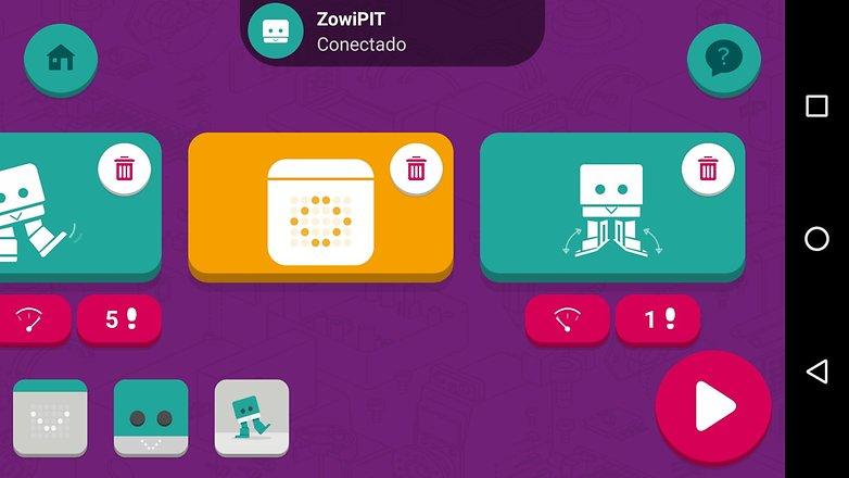 Zowi app 3 2 1