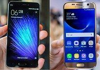 Samsung S7 gegen Xiaomi Mi 5: Sparen lohnt sich nicht