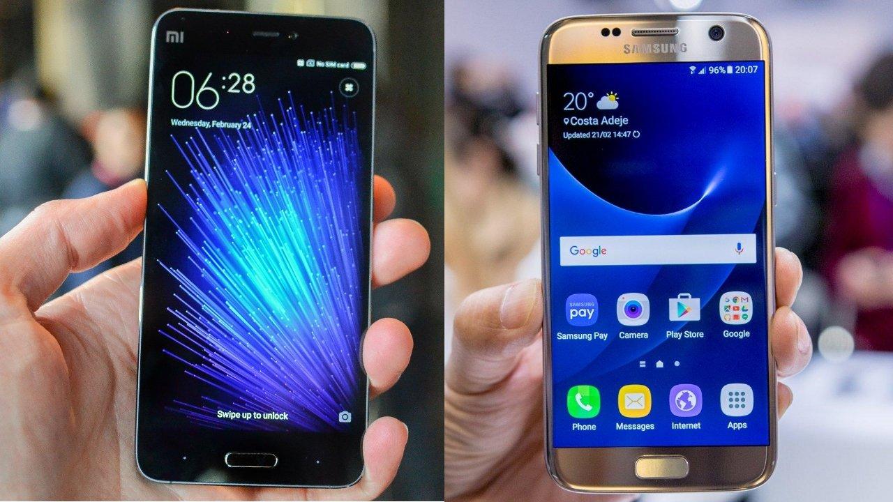 Samsung Galaxy S7 vs Xiaomi Mi5: Comparación de dos estrellas del ...