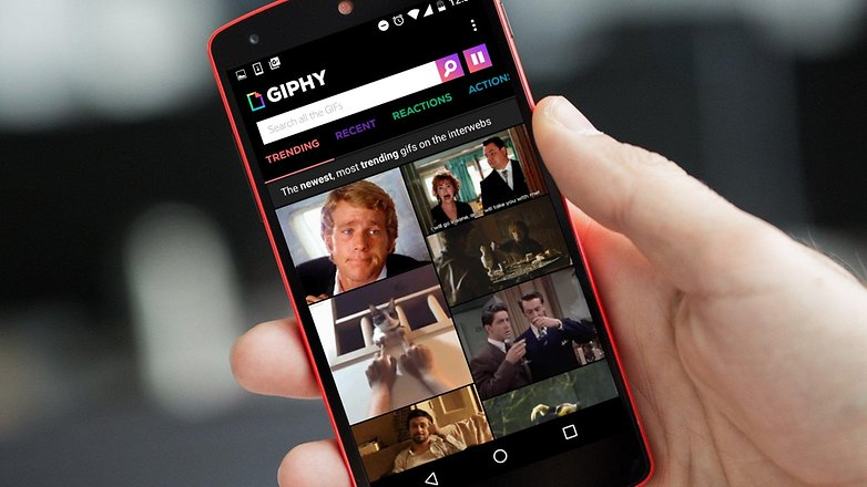 AndroidPIT giphy hero