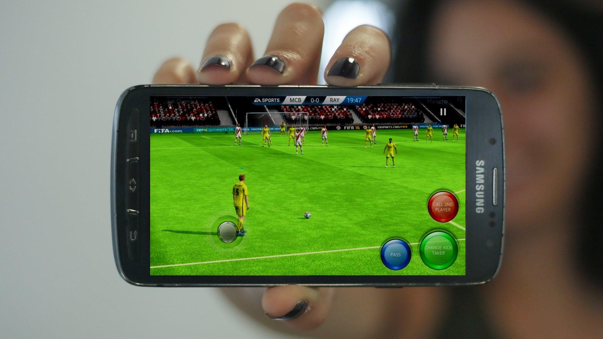 les meilleurs jeux de football sur android androidpit. Black Bedroom Furniture Sets. Home Design Ideas