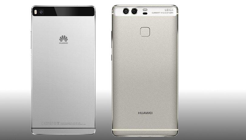 Huawei P9 vs Huawei P8: Comparación del mismo diseño al doble de potencia
