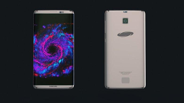Samsung Galaxy s8 concept Steel Drake 02