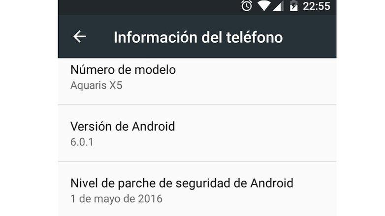 androidpit bq aquaris x5 actualizacion