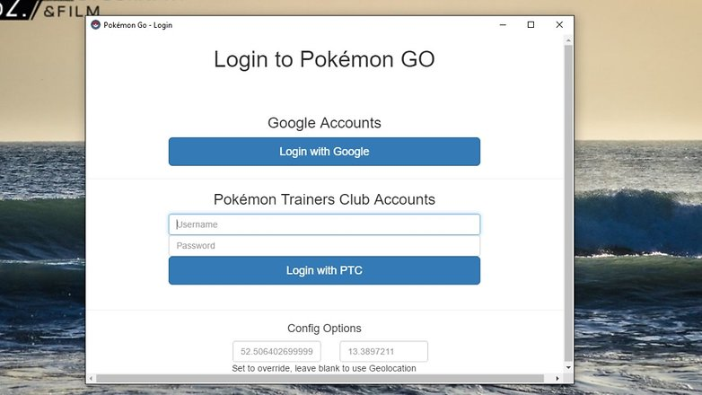 AndriodPIT pokemon go map login